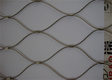 China Zoo SS Woven Wire Mesh Rhombus Impact Resistance Excellent Flexible Performance supplier