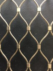 Golden Stainless Steel 304/316 Wire Mesh Screen Perfect Anti - Rust Property