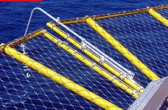 X Tend Stainless Steel Ferruled Mesh on board Corrosion Resistance For Protective Net