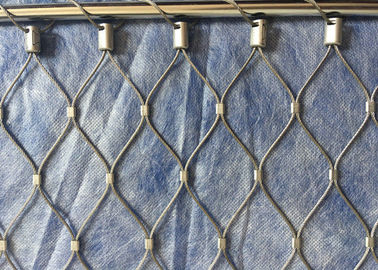High Intensity SS 316 Wire Mesh Fence Stainless Steel Easy Maintenance