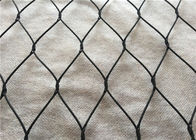China High Safety stainless steel 316 Woven Black wire Metal Mesh Screen factory
