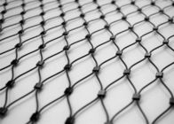 China Knotted Stainless Steel Rope Mesh Net Safety 20mm - 100mm Aperture company
