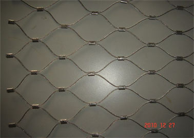 Silver Stainless Steel Woven Mesh , 304 Stainless Steel Woven Wire Cloth