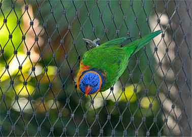 China Durable Parrot Aviary Mesh Stainless Steel High Strength Long Service Life factory