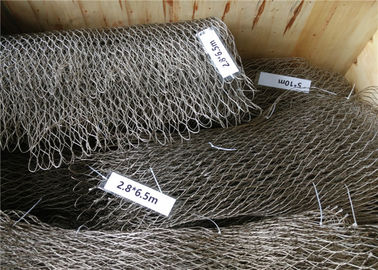 China Wall Stainless Steel Woven Fabric Breaking Resistant Without Toxic Material factory