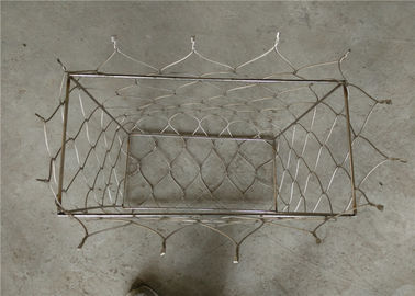 7x7 / 7x19 Stainless Steel Mesh Bag Custom Made As Things Enclosure