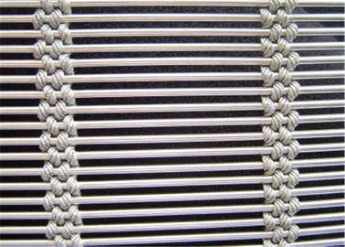 SS 316 Architectural Metal Mesh Screen High Strength Corrosion Resistant