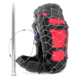 Flexible Anti - Theft Stainless Steel Mesh Bag / Backpack Protector