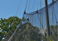 Knotted Cable Mesh Netting Stainless Steel High Durability Impact Resistance