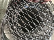 Flexible Stainless Steel Bird Mesh High Intensity 20mm - 200mm Aperture