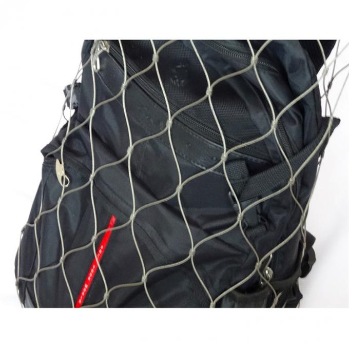stainless steel anti-theft bag wire rope mesh for backpack and bag protector