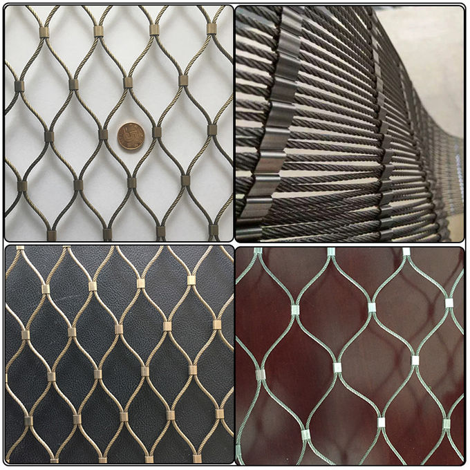 High Strength Stainless Steel Wire Mesh Screen Perfect Anti - Rust Property